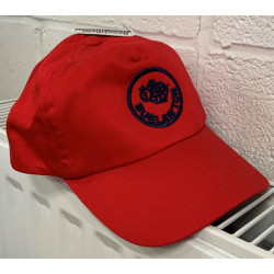 Buglawton Cap with Navy Logo