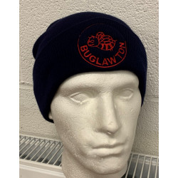 Buglawton Navy Beanie with...
