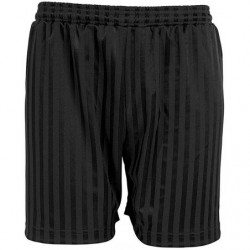 Black PE shorts between...