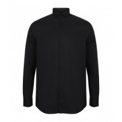 Henbury Long Sleeve Stretch...