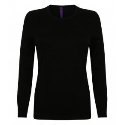 Henbury Ladies Crew Neck...