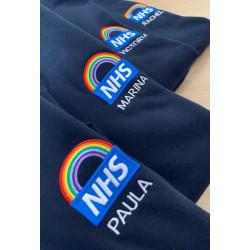 Ladies' Fit NHS Rainbow Zip...
