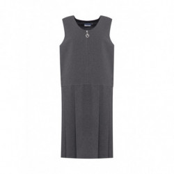 Lynton Pleated Pinafore - Grey
