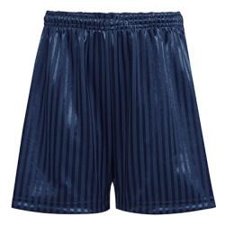 """Navy PE shorts  14/16""""-26/28"""""""